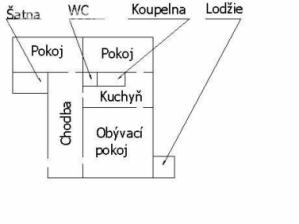 Prodej, byt 3+1, 74 m² Valašské Meziříčí .